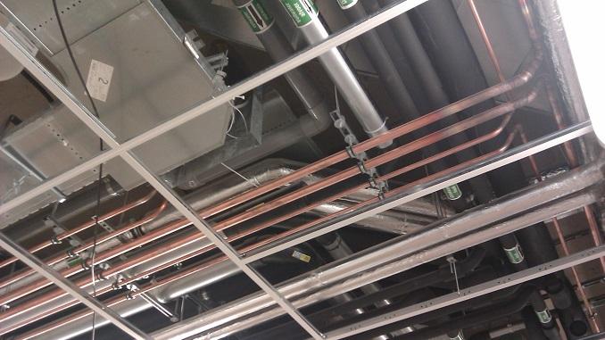 Installatie leidingen